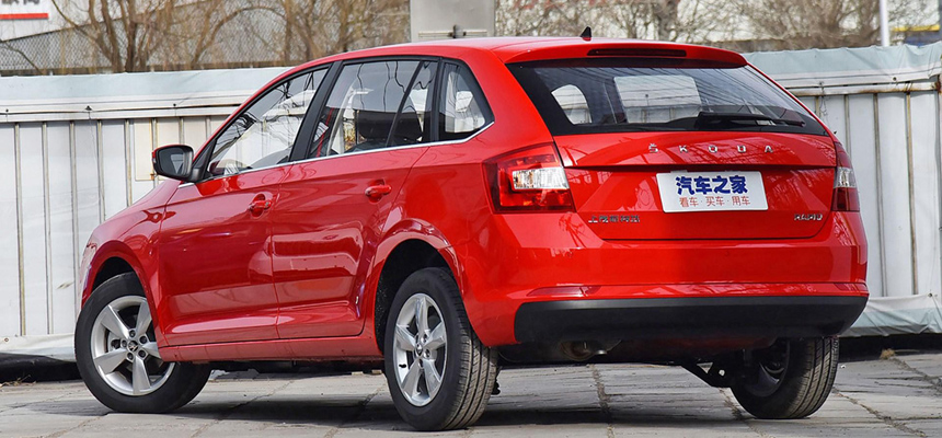 Skoda Rapid Spaceback для Китая