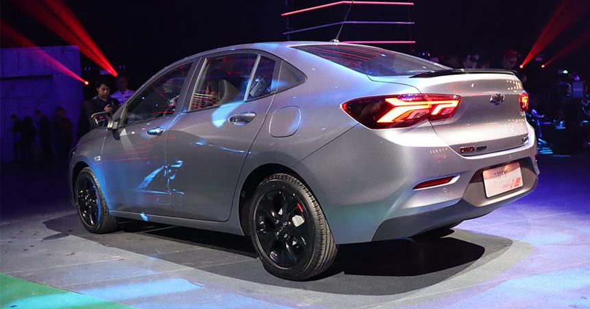 Седан Chevrolet Onix пришел на смену Кавалеру