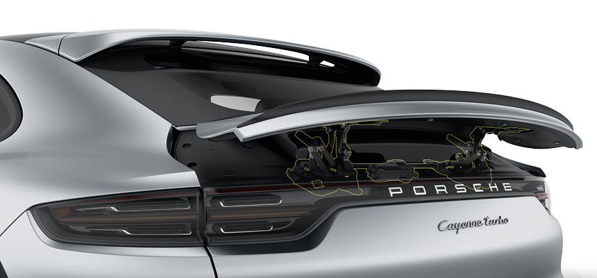 Кроссовер Porsche Cayenne Coupe полностью рассекречен