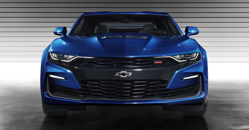 Chevrolet Camaro перенес срочное изменение лица