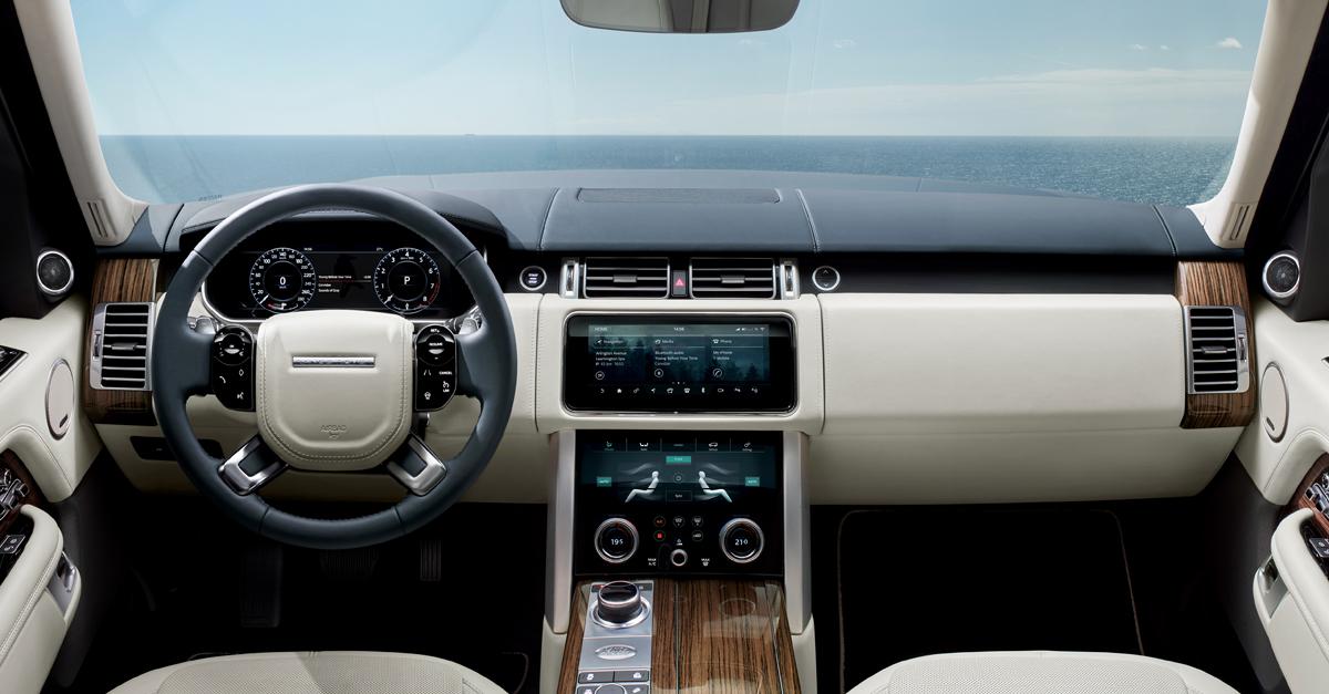 Большой Range Rover обзавелся мотором с электронаддувом