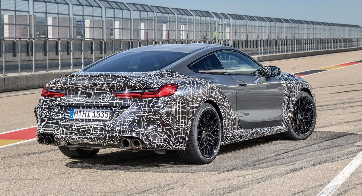 BMW M8 будет иметь двухрежимные тормоза