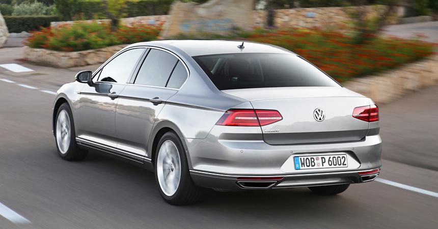 Volkswagen Passat обзавелся версией Business Edition