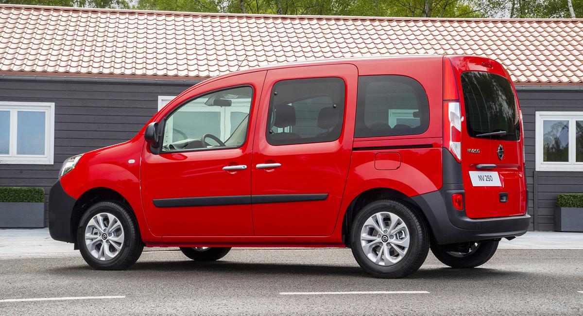 У Renault Kangoo появился брат Nissan NV250