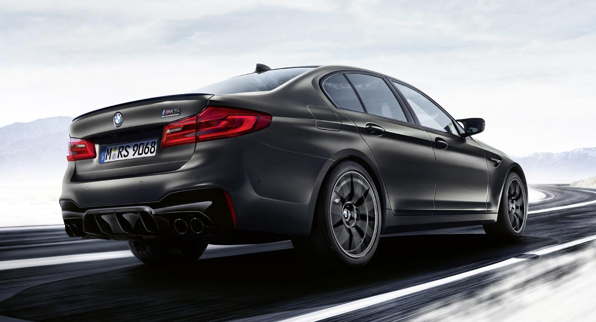 Седан BMW M5 выпущен в юбилейной версии