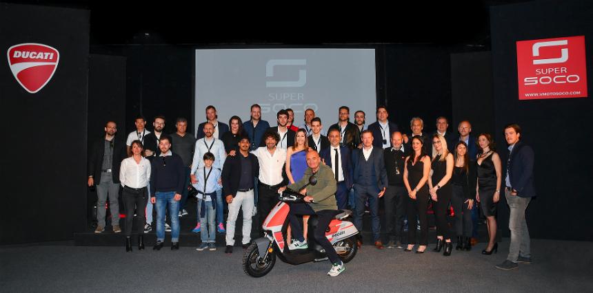 Электрический скутер Ducati Super Soco CUx: тихая премьера