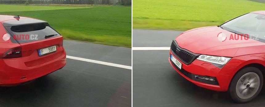 Новая Skoda Octavia Combi почти лишилась камуфляжа