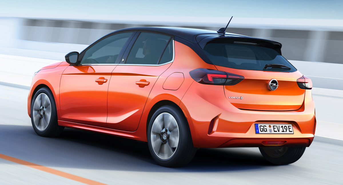 Новый хэтчбек Opel Corsa-e: сначала электромобиль