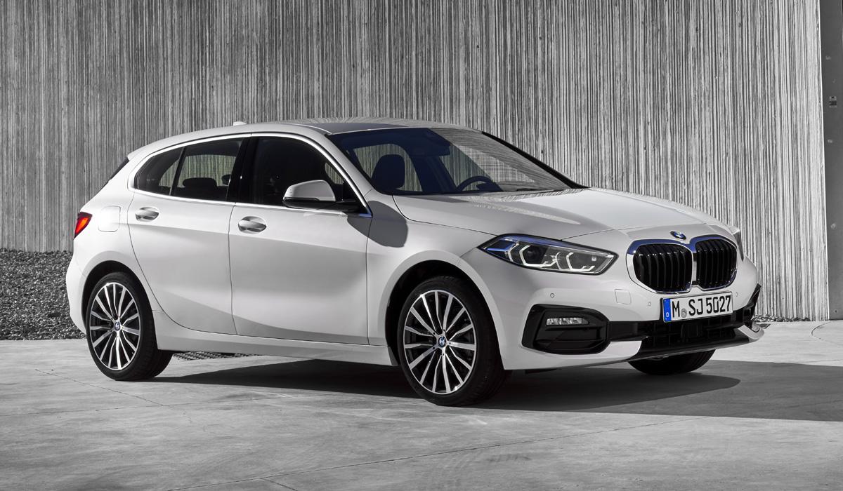 Новый хэтчбек BMW первой серии: мотор поперек и передний привод