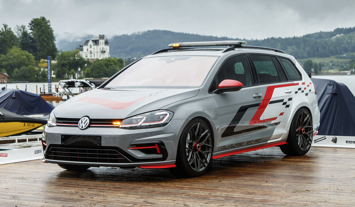 Volkswagen Golf на фестивале GTI: мощь и невиданная технология
