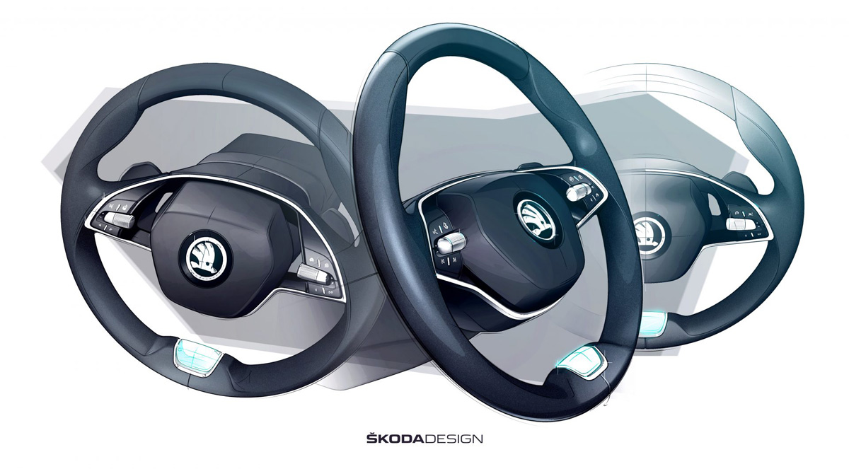 Новая Skoda Octavia: взгляд в салон