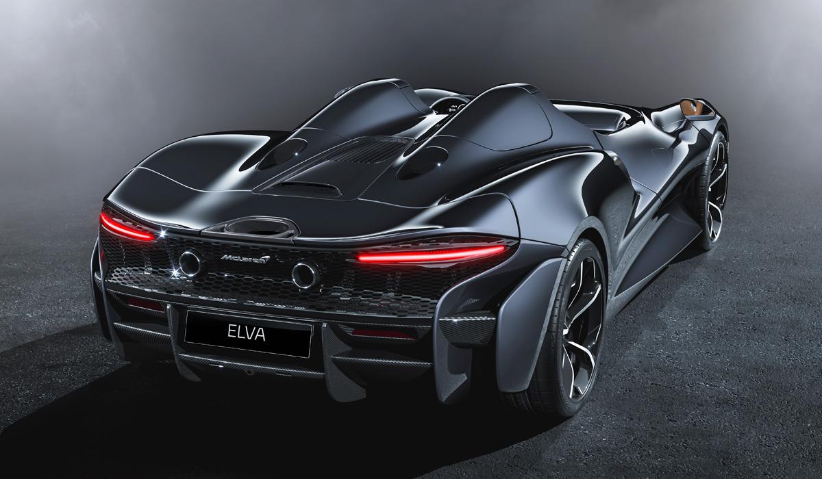 Мак Ларен представил Elva— 800-сильный суперкар без лобового стекла