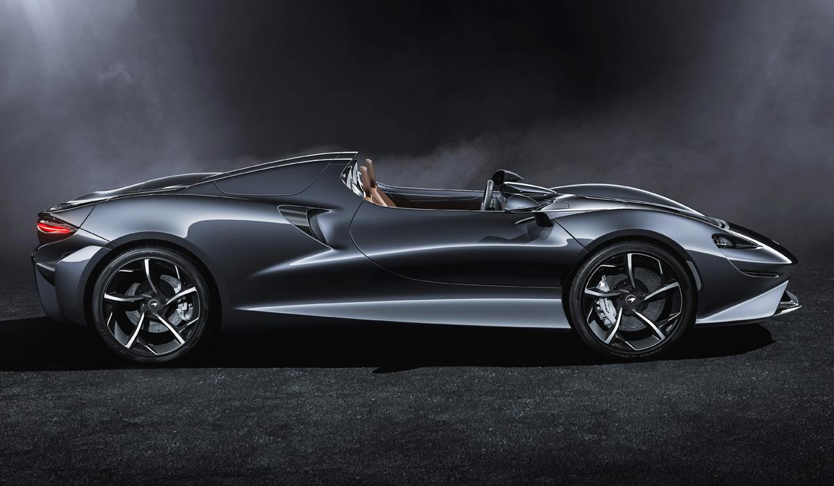Мелкосерийный спайдер McLaren Elva: самый легкий в гамме