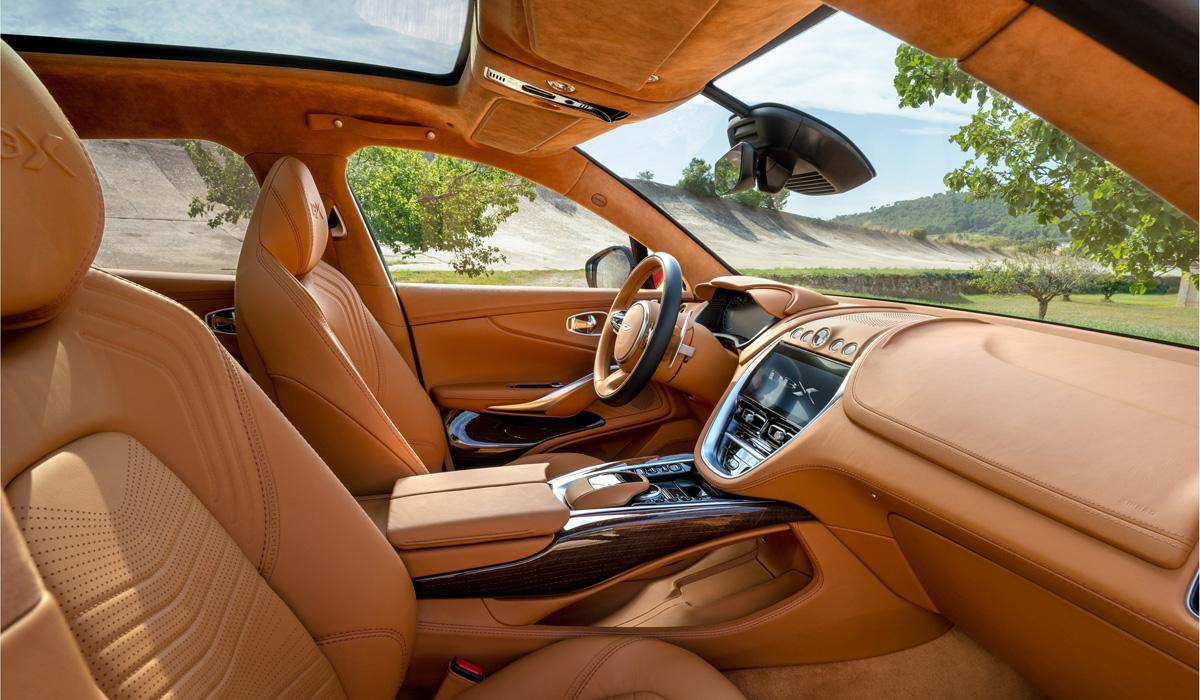 Кроссовер Aston Martin DBX полностью рассекречен