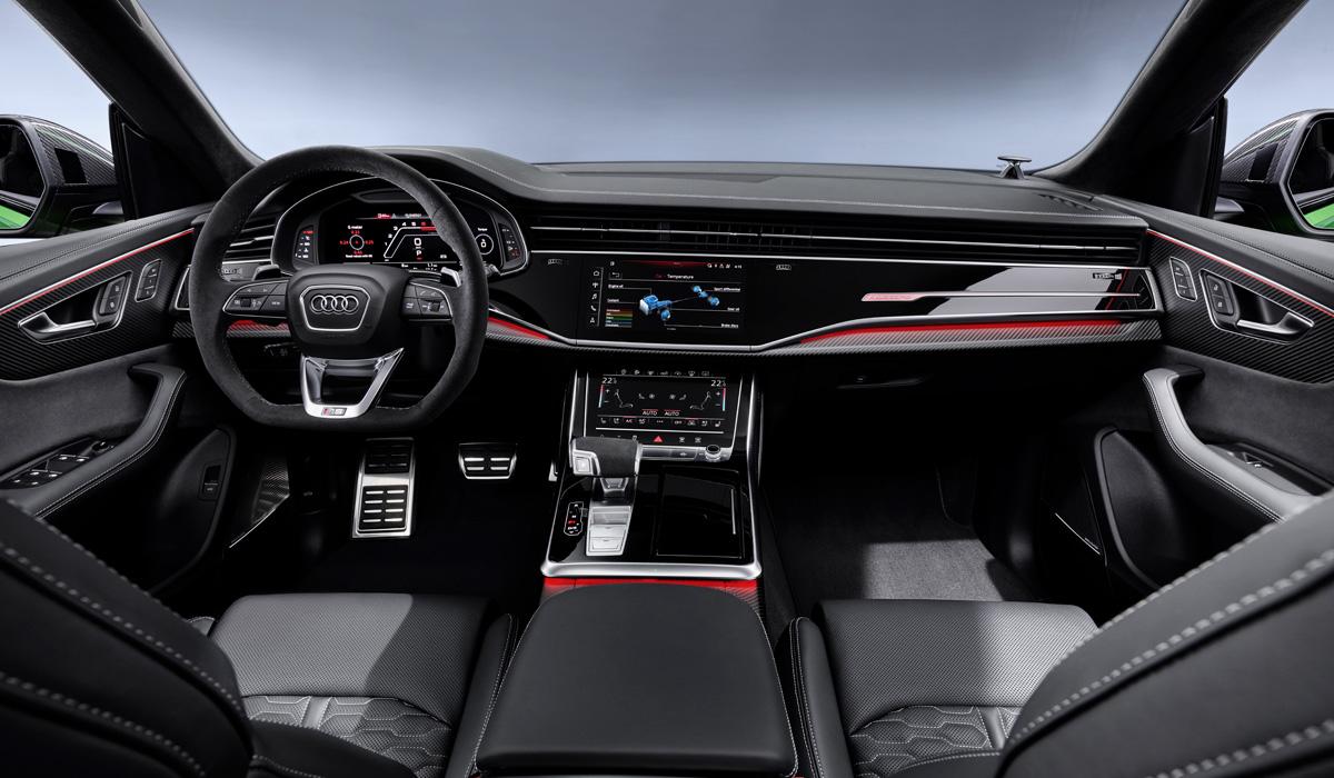 Картинки по запросу Audi Q8 RS 2020 салон