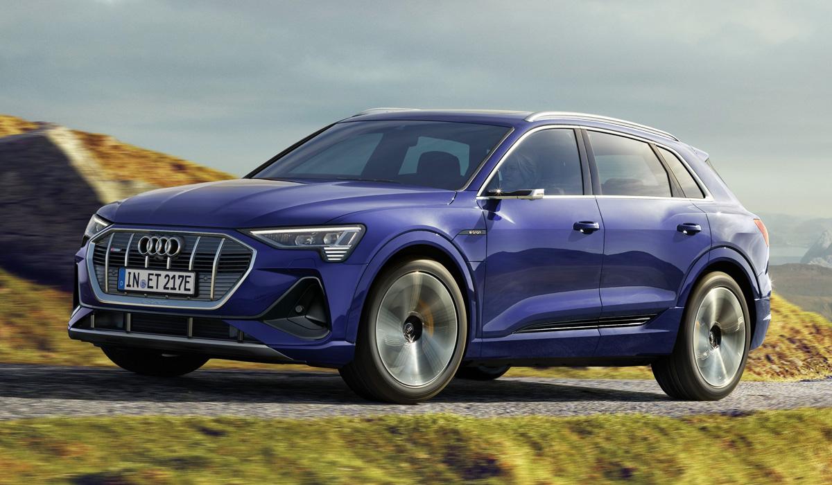 audi etron2 - Кроссоверы Audi e-tron стали дальнобойнее