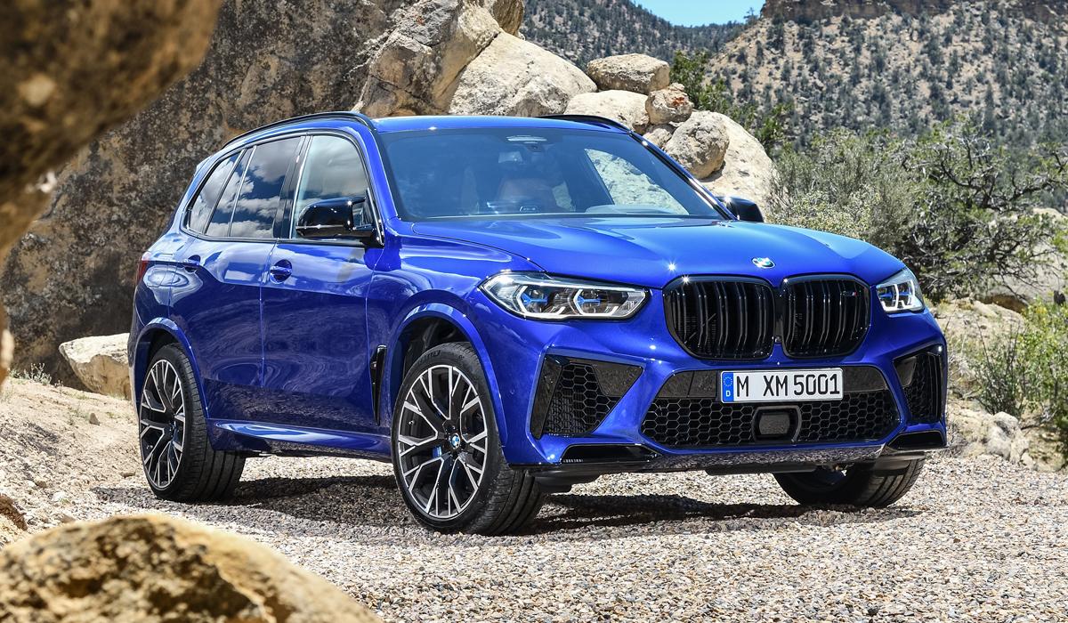 Новейшие BMW X5 M и X6 M: цены в Рф