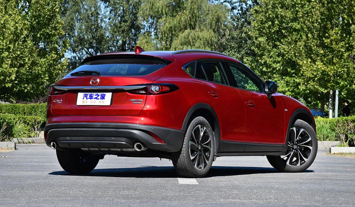 Кроссовер Mazda CX-4 обновлен в стиле старших моделей