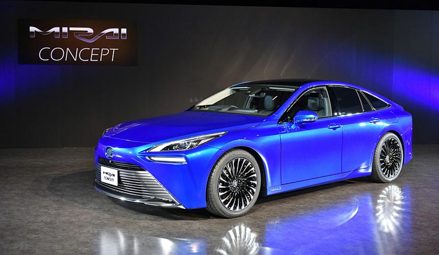 Водородная Toyota Mirai преобразится во втором поколении