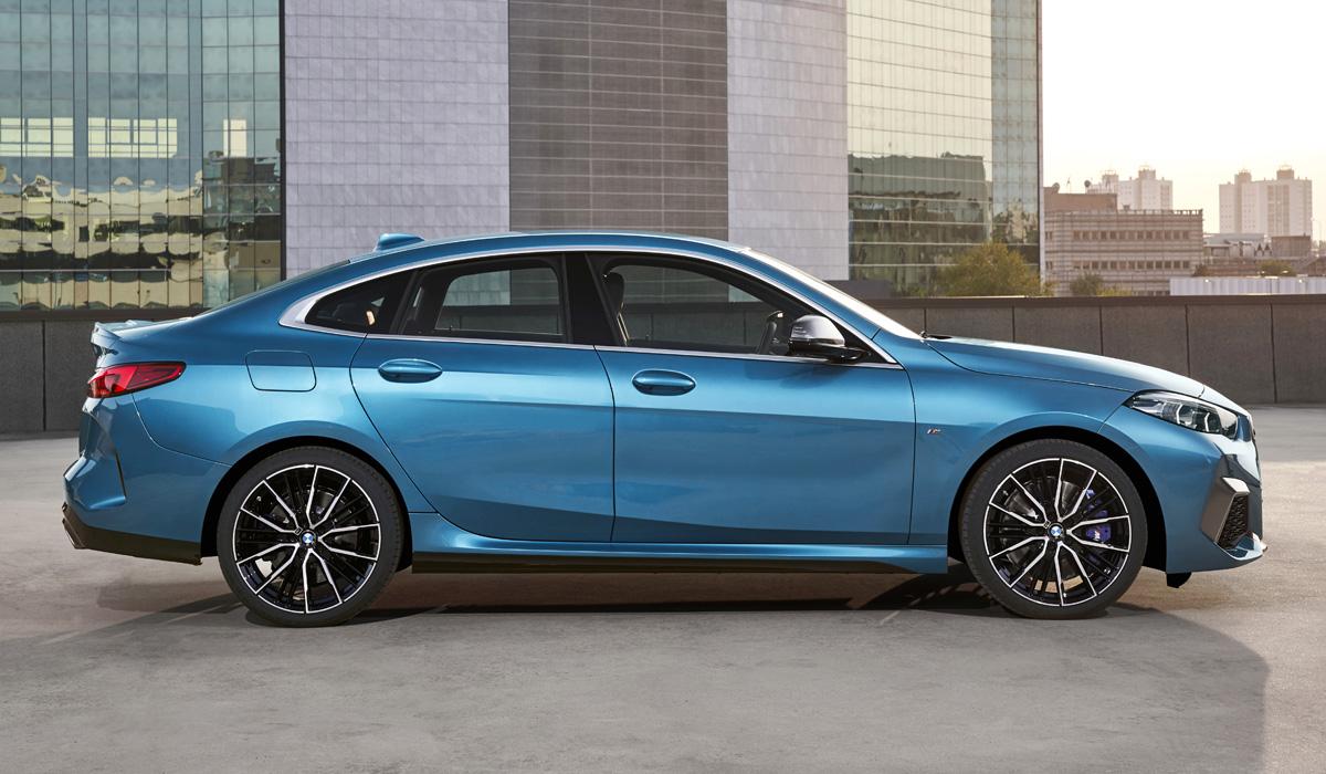 Представлен четырехдверный BMW Gran Coupe второй серии