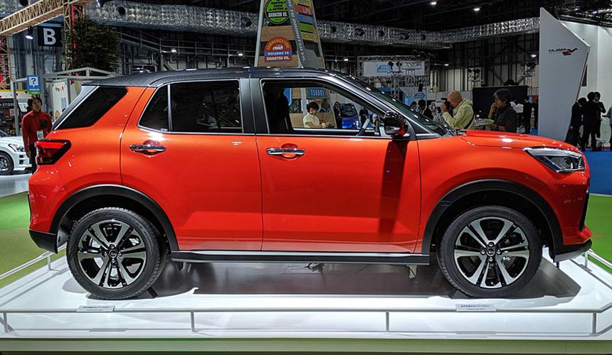 Daihatsu Rocky возрожден в формате кроссовера