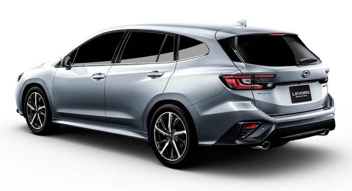 Универсал Subaru Levorg дебютировал с новым турбомотором 1.8