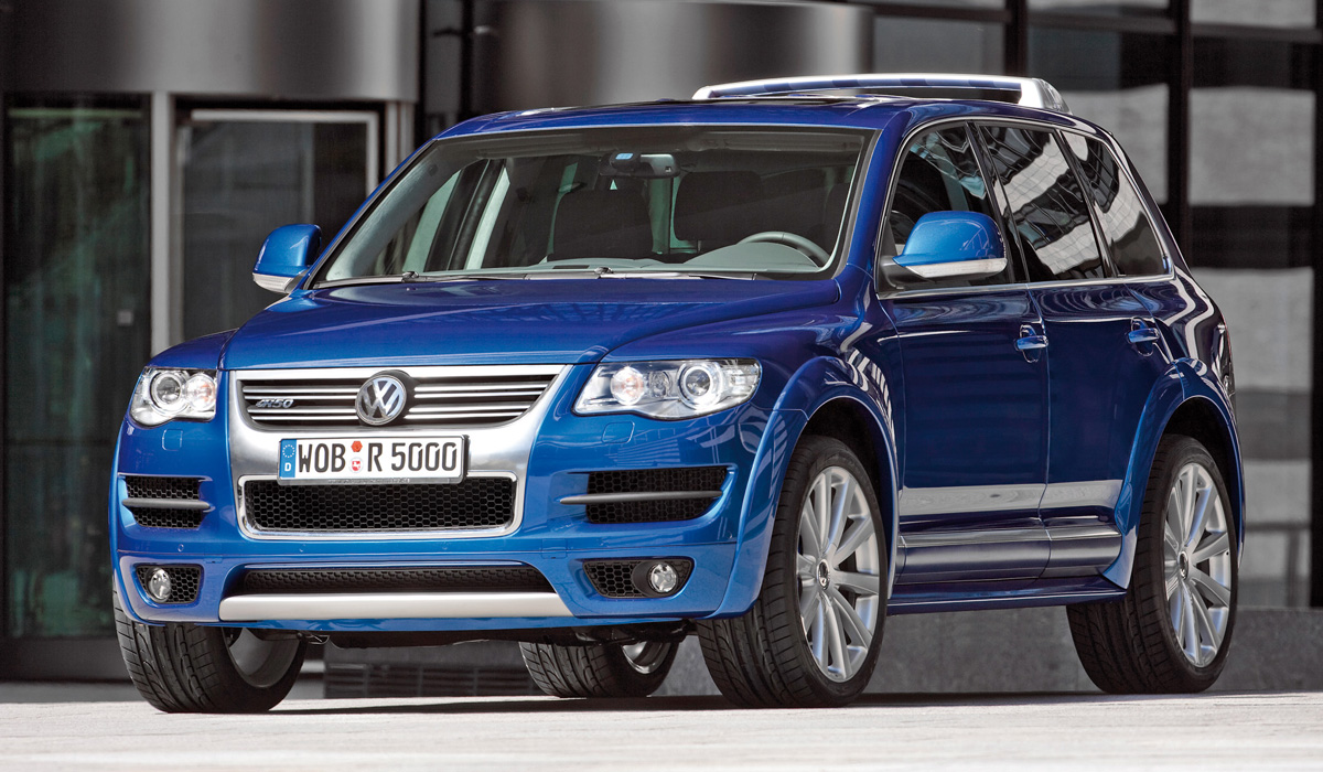 Анонсирован «заряженный» гибрид Volkswagen Touareg R