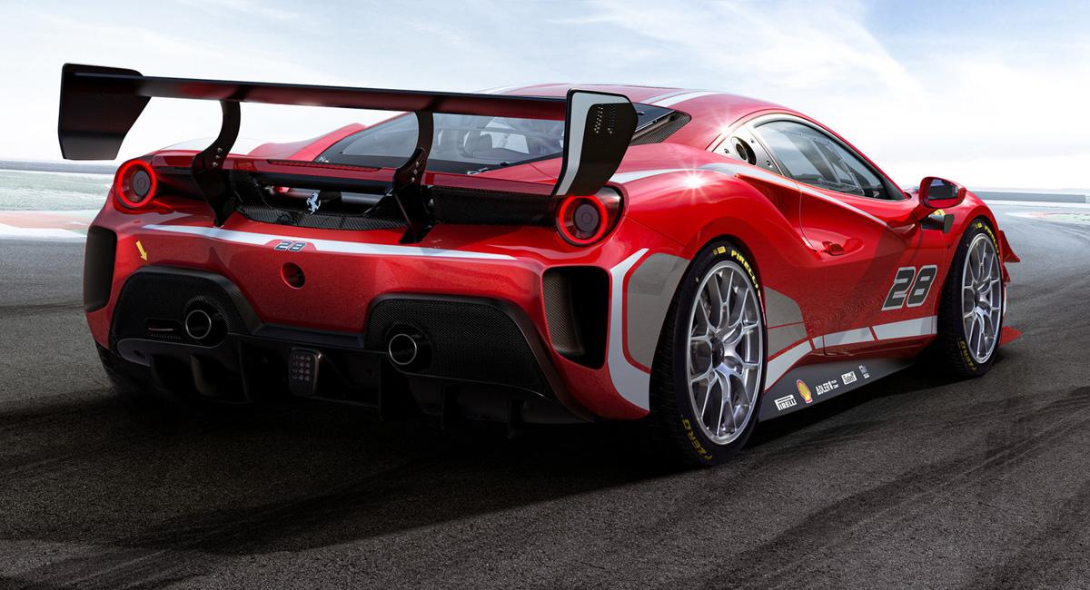 Обновлены гоночные версии Ferrari 488