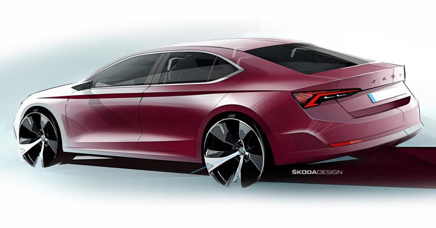 Новая Skoda Octavia: подробности о технике