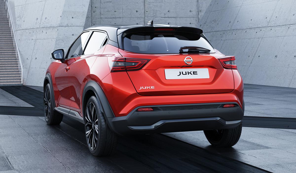 Представлен кроссовер Nissan Juke второго поколения