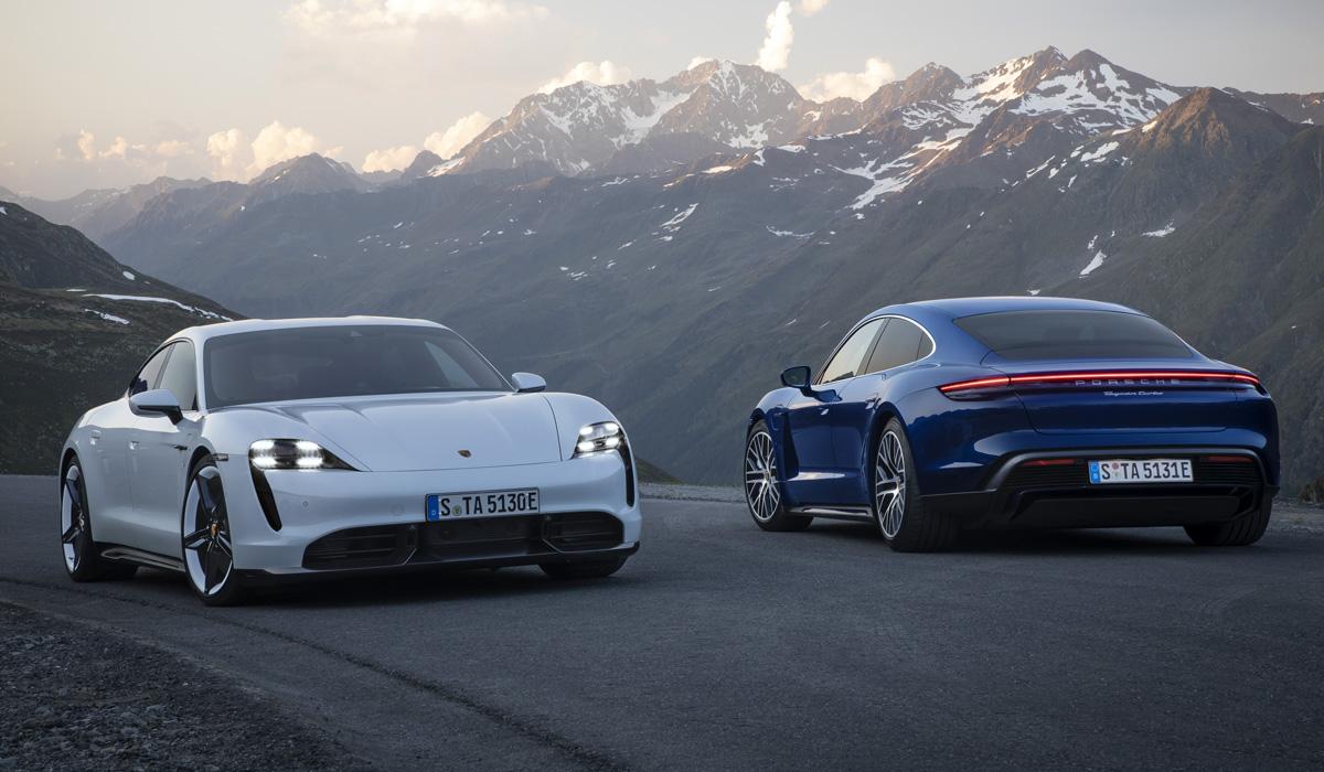 Серийный электромобиль Porsche Taycan полностью рассекречен