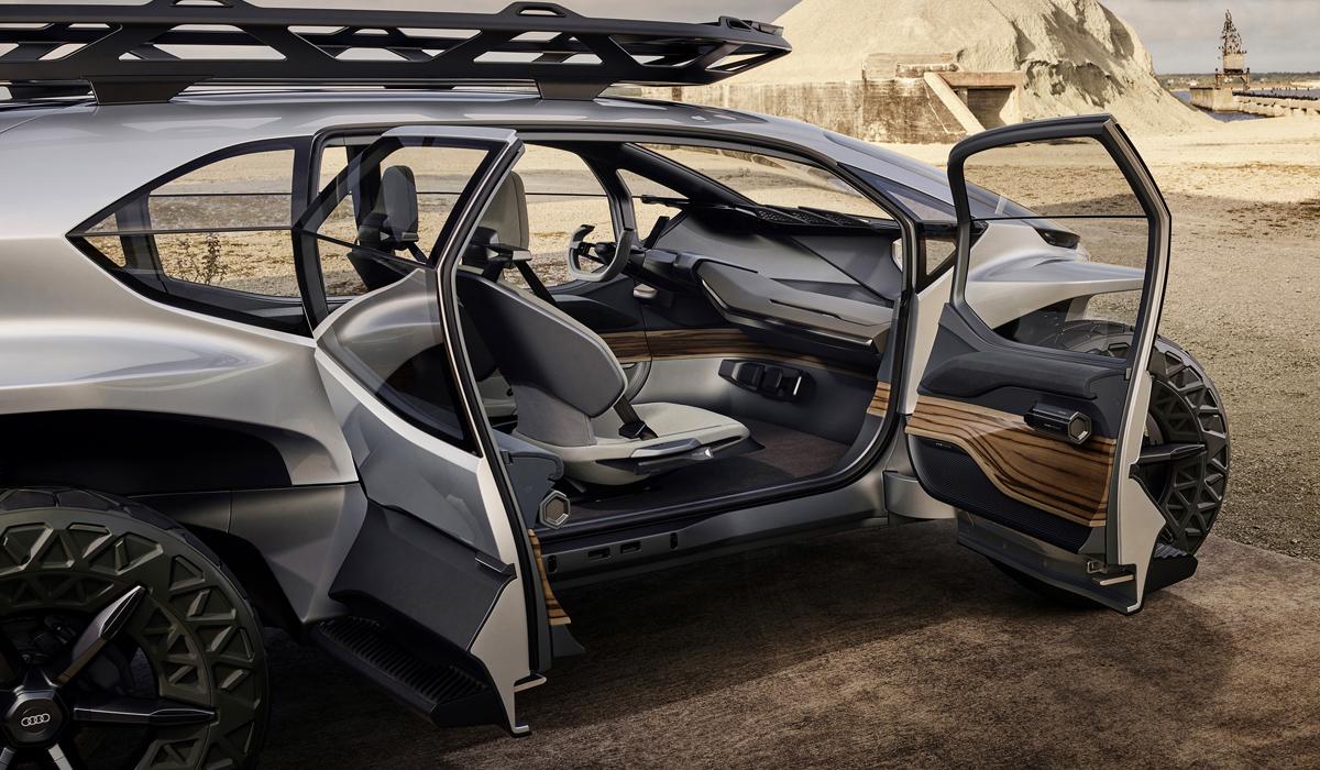 Audi AI:Trail, или каким окажется внедорожник будущего