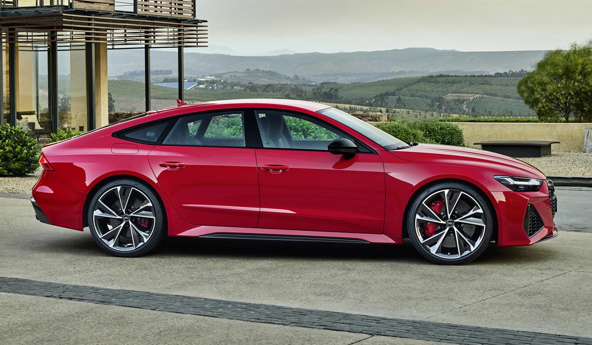 Audi RS 7 Sportback нового поколения: 600 сил!