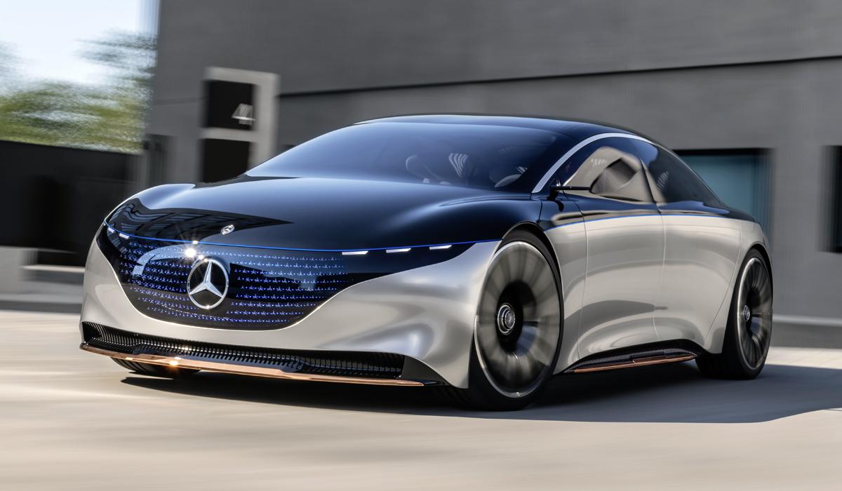 Mercedes-Benz Vision EQS: будущая альтернатива S-классу