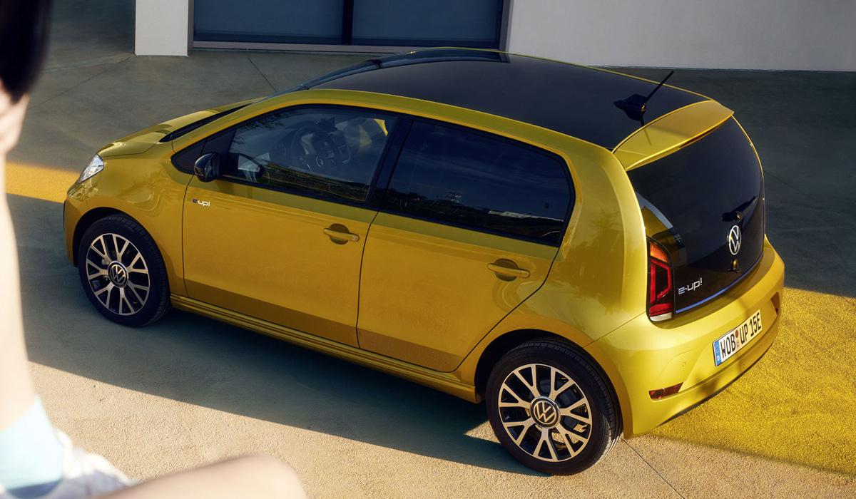 Обновленный Volkswagen e-up!: дальнобойнее и дешевле