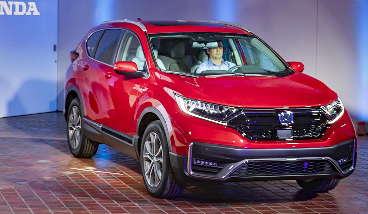Представлен обновленный кроссовер Honda CR-V