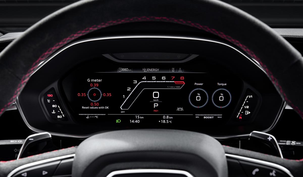 «Жаркий» кроссовер Ауди RS Q3 дебютировал в 2-ух версиях