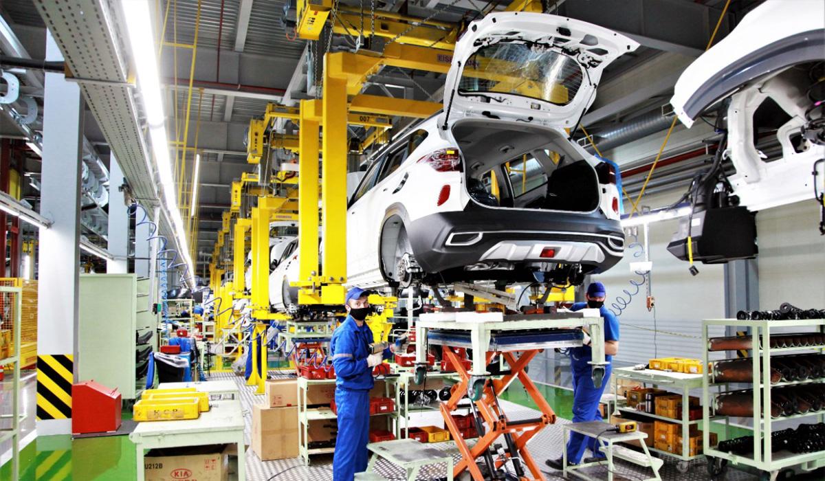 В России начали собирать самую дешевую версию Kia Seltos — Motor