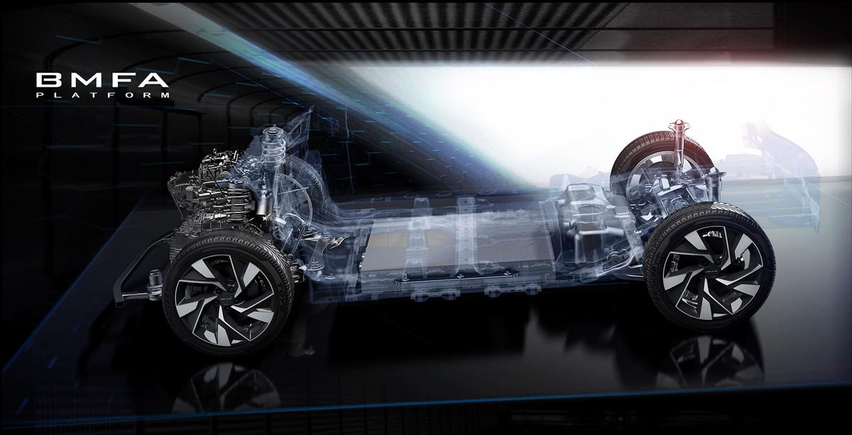 Кроссовер Beijing X7 стал первенцем модульной платформы