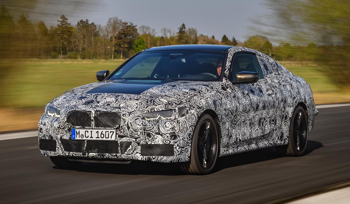 Новая «четверка» BMW уже на финальной стадии испытаний