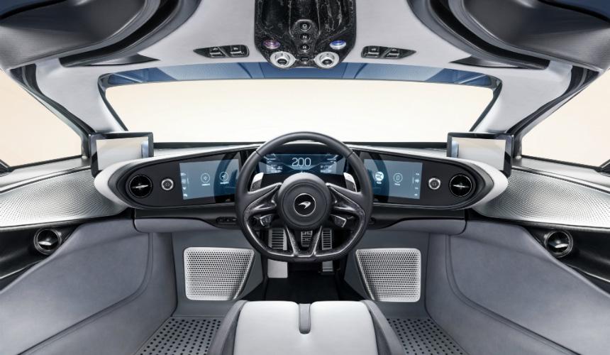 Гиперкар McLaren Speedtail: подробности о технике