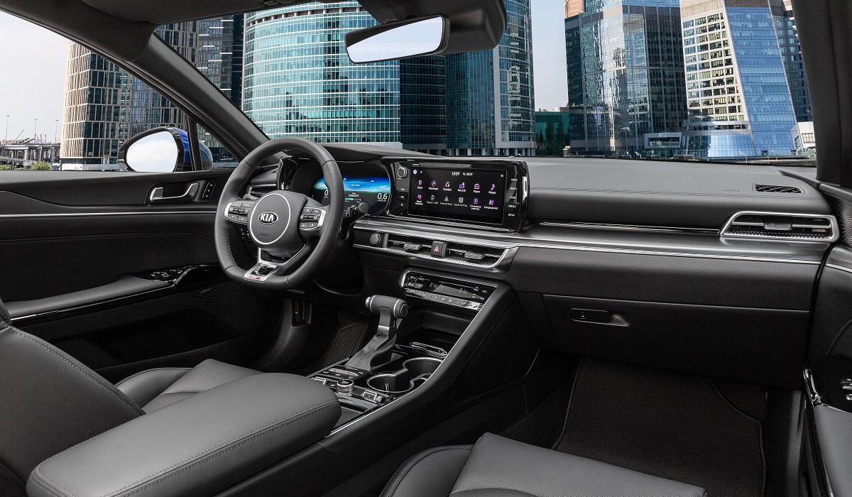 Kia K5: цены и версии для России