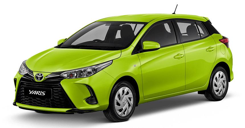 Обновлены седан и хэтчбек Toyota Yaris для развивающихся рынков