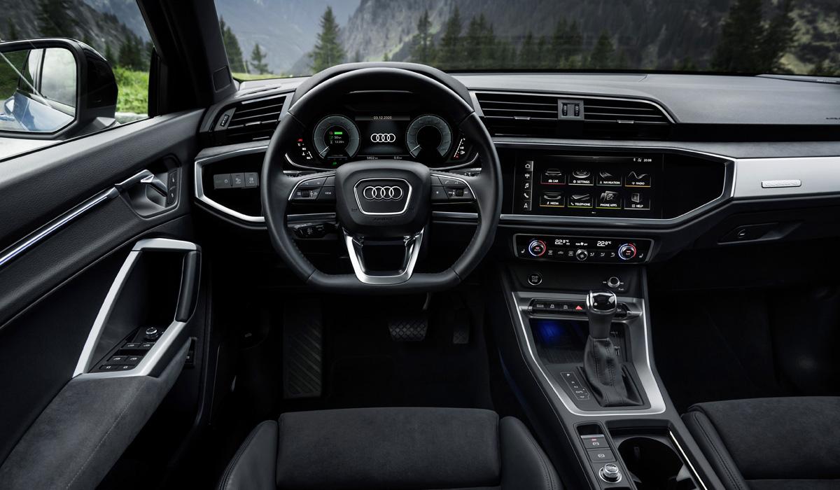 Кроссовер Audi Q3 впервые стал гибридом