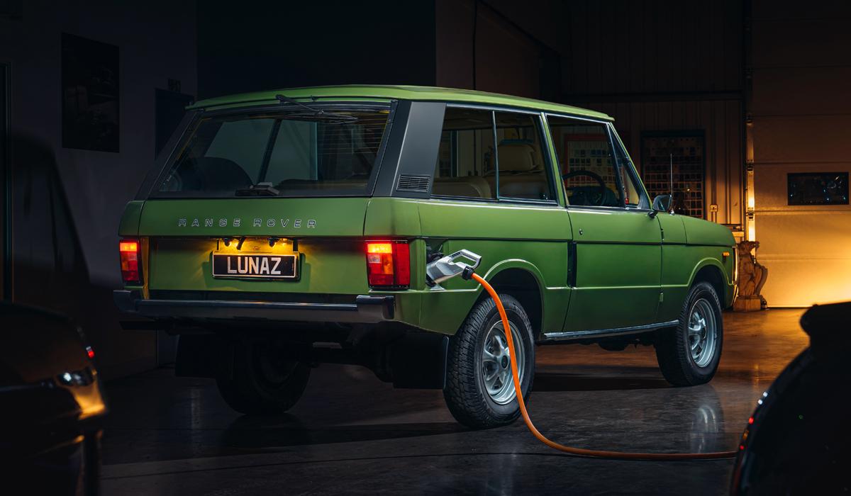 Lunaz Range Rover2 - Lunaz превратит классический Range Rover в электромобиль