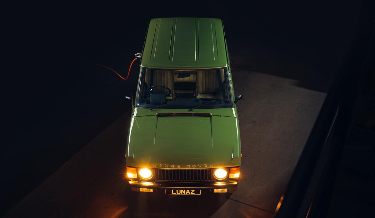 Lunaz Range Rover3 - Lunaz превратит классический Range Rover в электромобиль