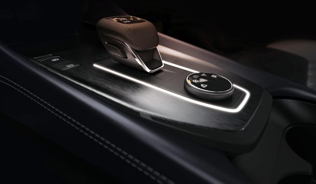 Новый Nissan Qashqai: первые изображения салона