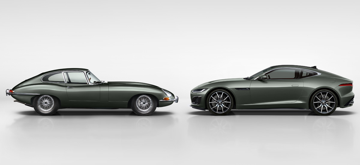 Jaguar F-Type Heritage 60 отметит юбилей модели E-Type
