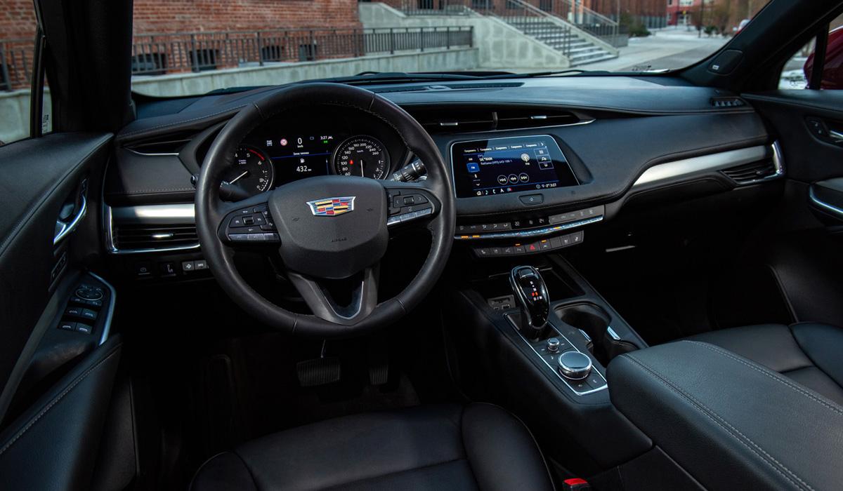 Cadillac XT4 3 - Компактный кроссовер Cadillac XT4: цены в России