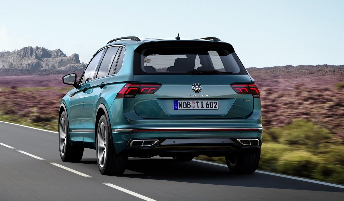 volkswagen tiguan2 - Обновленный Volkswagen Tiguan выходит на российский рынок: объявлены цены
